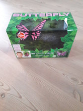 Pink Butterfly 3D Deco