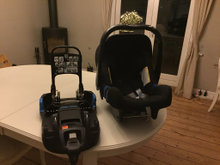 Baby-safe plus shr ll incl base