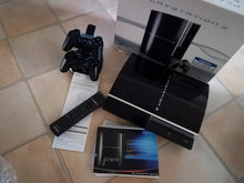 Playstation 3, 500GB,incl. 50 spil m.m.
