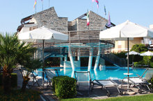 Hotel by the beach in southern Italy