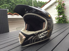 Crosshjelm LAZER MX7 HURRICANE (str. XL)