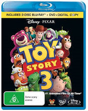 3 Disc sæt ; TOY STORY 3