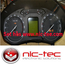 skoda octavia 2 speedometer reperation / kombi Instrument reperation