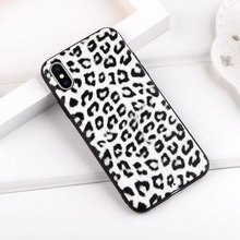 Leopard silikone cover iPhone X 10 XS