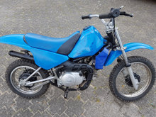 Yamaha  PW-80 crosser.