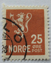 Norge - AFA 132 - Stemplet