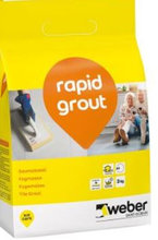5 poser RAPID Grout 13 silver grey 3 kg