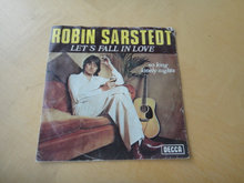 SINGLE - Robin Sarstedt - Let's fall in