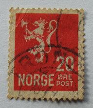 Norge - AFA 221a - Stemplet
