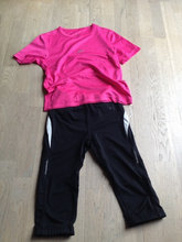 Sports t-shirt og 3/4 tights mrkProTouch