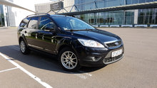 Ford Focus stationcar i fot stand