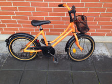 Winther pigecykel orange str 4 år