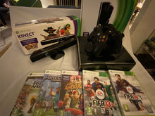 Xbox 360 Incl. Spil, kinect