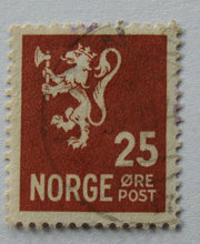 Norge - AFA 186 - Stemplet