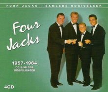 4 cd sæt ; FOUR JACKS ; 1957 - 1964