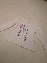 baby bluse med print