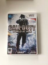 Wii spil. Call of Duty - world at war