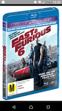 Fast and the furious 5 & 6 på bluray.