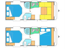 2018 - Caravelair Allegra Home 560   STOOOOR NYHED !