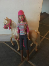 Hest incl  Barbie