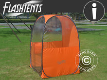 Tilskuertelt pop-up, FlashTents®, 1 person, Orange