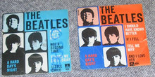 2 ep med The Beatles
