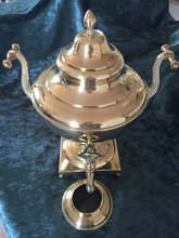Samovar i messing