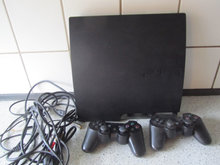 Play station 3 koncol med 2 stk Joystick