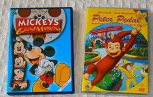 DVD: Disney Mickey og Peter Pedal