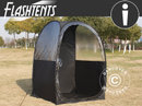 Tilskuertelt pop-up, FlashTents®, 1 person, Sort