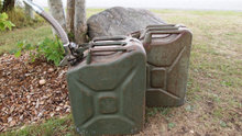 JERRY CAN    20 ltr. flot Army farvet