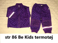 364) str 86 Be Kids termotøj