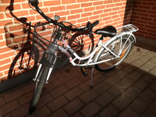 24 tommer pigecykel Puch