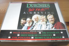 UDGÅET; The Dubliners 30 years; BOX.