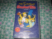 vhs bånd The Simpsons  Greatest hits