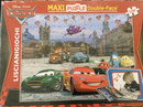 Cars Maxi puzzle double-face 108 brikker