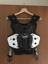Leath 4.5 chest protector