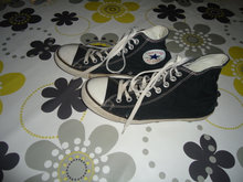 Converse-All Star sko sorte str: 7 1/2