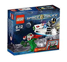LEGO Space Police 5969, 5981, 8399