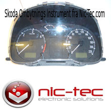 skoda octavia speedometer reperation / kombi Instrument reperation.