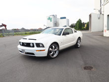 06 mustang aux koble op