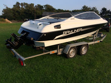Super fin Bayliner med trailer