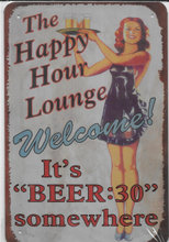 The Happy Hour Lounge - Welcome - Metals
