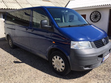 VW T5, 10 Person, lav afgift NYSYNET