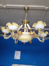 6 Armet  messing loftlampe