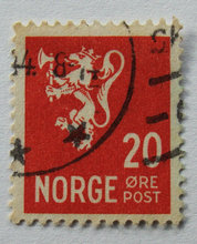 Norge - AFA 221 - Stemplet