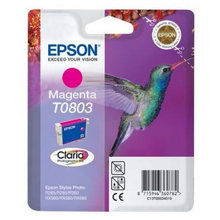Original Ink Cartridge Epson C13T08034011 Stylus Photo R360 Magenta