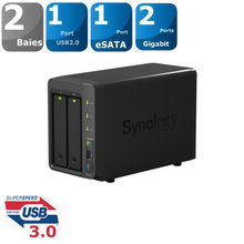 NAS Synology DS214+ - Max 12 TB