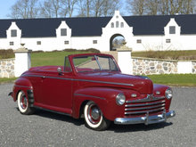 Ford Super Deluxe 3,9 V8 100HK Cabr. Aut.