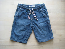 Blå denim shorts fra Lindex str. 110